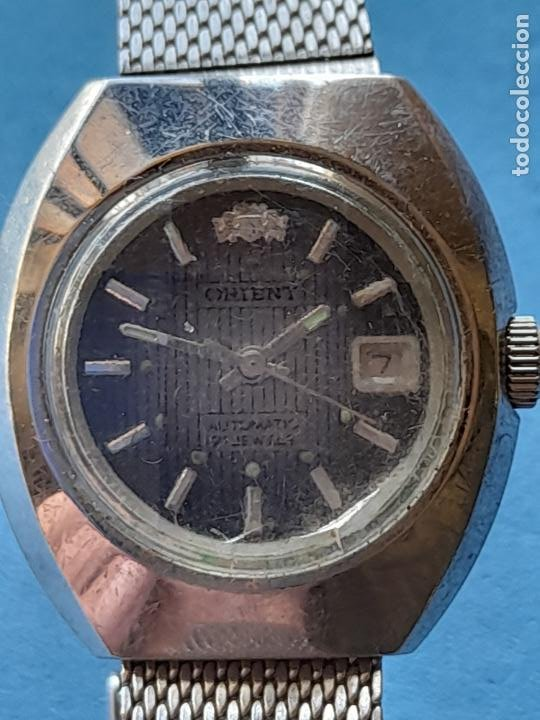 Relojes automáticos: Reloj Marca Orient. Automático de dama. Japan made - Foto 2 - 255957435