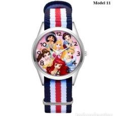 Relojes automáticos: RELOJ PRINCESAS (CORREA DE NAILON NYLON) (CON CAJA). Lote 257357320