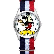 Relojes automáticos: RELOJ RATON (CORREA DE NAILON NYLON) (CON CAJA). Lote 257357360