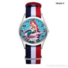 Relojes automáticos: RELOJ SIRENA SIRENITA (CORREA DE NAILON NYLON) (CON CAJA). Lote 257357465