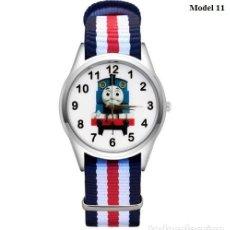 Relojes automáticos: RELOJ TREN (CORREA DE NAILON NYLON) (CON CAJA). Lote 257357495