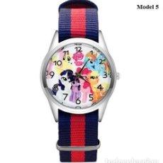 Relojes automáticos: RELOJ UNICORNIO PONY (CORREA DE NAILON NYLON) (CON CAJA). Lote 257357515