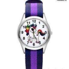 Relojes automáticos: RELOJ UNICORNIO (CORREA DE NAILON NYLON) (CON CAJA). Lote 257357550