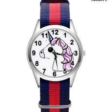 Relojes automáticos: RELOJ UNICORNIO (CORREA DE NAILON NYLON) (CON CAJA). Lote 257357570