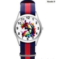 Relojes automáticos: RELOJ UNICORNIO (CORREA DE NAILON NYLON) (CON CAJA). Lote 257357590