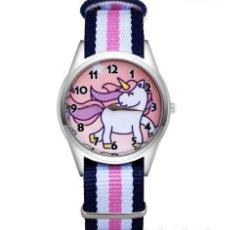 Relojes automáticos: RELOJ UNICORNIO (CORREA DE NAILON NYLON) (CON CAJA). Lote 257357620
