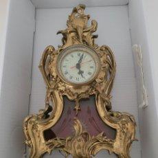 Relojes automáticos: ANTIGUO RELOJ DE BRONCE NO FUNCIONANDO (PESO EN BRONCE 7,413 KILOS). Lote 257621525
