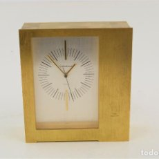 Relojes automáticos: RELOJ DE SOBREMESA JAEGER LE COULTRE, ELECTRIC, SWISS, CON PILAS. 17X15X6CM. Lote 258320285