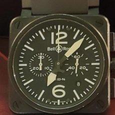 Relojes automáticos: BELL & ROSS IMPECABLE RELOJ CAJA Y PAPELES. Lote 259836130