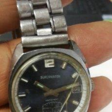 Relojes automáticos: RELOJ SUPERWATCH AUTOMATIC CON CALENDARIO FUNCIONA. Lote 260687325