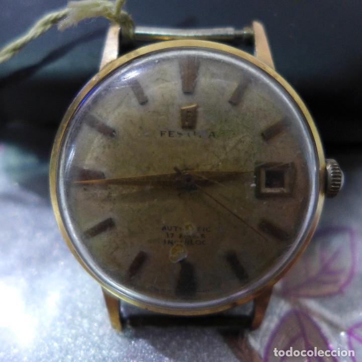Relojes automáticos: RELOJ AUTOMATICO DE PULSERA FESTINA 17 RUBIS INCABLOC - Foto 2 - 262152765
