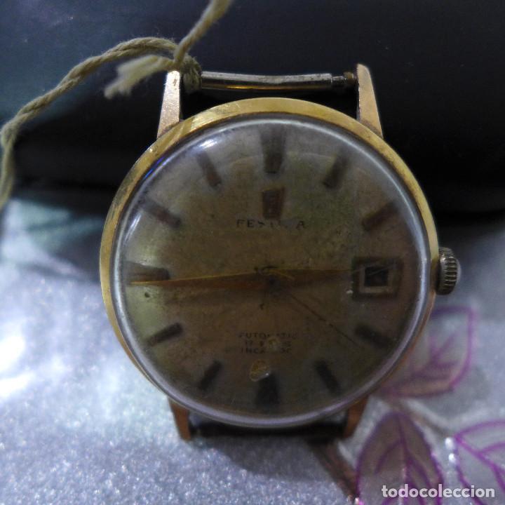 Relojes automáticos: RELOJ AUTOMATICO DE PULSERA FESTINA 17 RUBIS INCABLOC - Foto 3 - 262152765