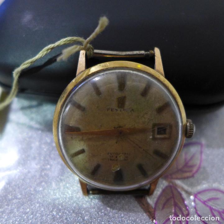 Relojes automáticos: RELOJ AUTOMATICO DE PULSERA FESTINA 17 RUBIS INCABLOC - Foto 4 - 262152765