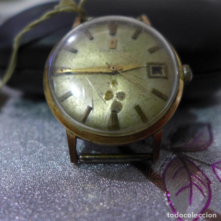 Relojes automáticos: RELOJ AUTOMATICO DE PULSERA FESTINA 17 RUBIS INCABLOC - Foto 5 - 262152765