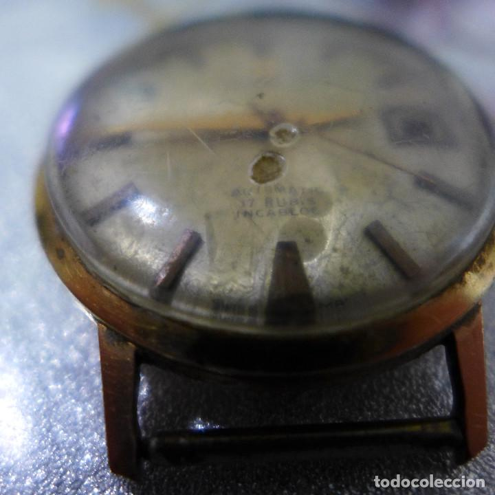 Relojes automáticos: RELOJ AUTOMATICO DE PULSERA FESTINA 17 RUBIS INCABLOC - Foto 9 - 262152765