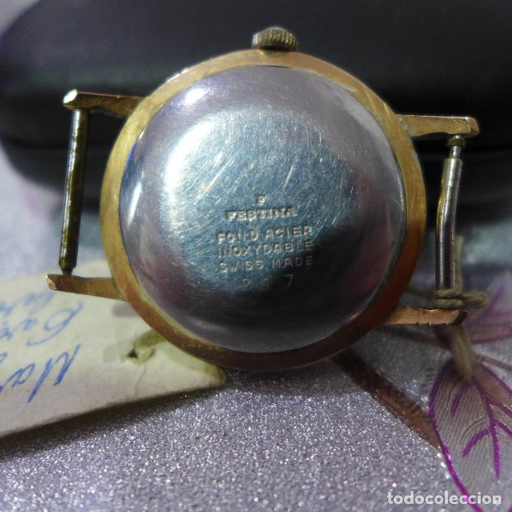 Relojes automáticos: RELOJ AUTOMATICO DE PULSERA FESTINA 17 RUBIS INCABLOC - Foto 12 - 262152765