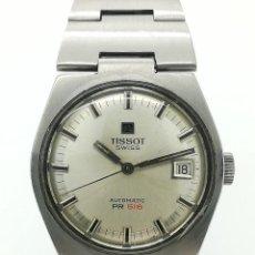 Relojes automáticos: RELOJ AUTOMÁTICO VINTAGE TISSOT PR 516 ACERO INOXIDABLE DE SEGUNDA MANO. Lote 234815255