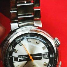 Relojes automáticos: TISSOT T12 NAVIGATOR AUTOMATIC COMPRESOR AÑOS 70 44MM. Lote 262686075