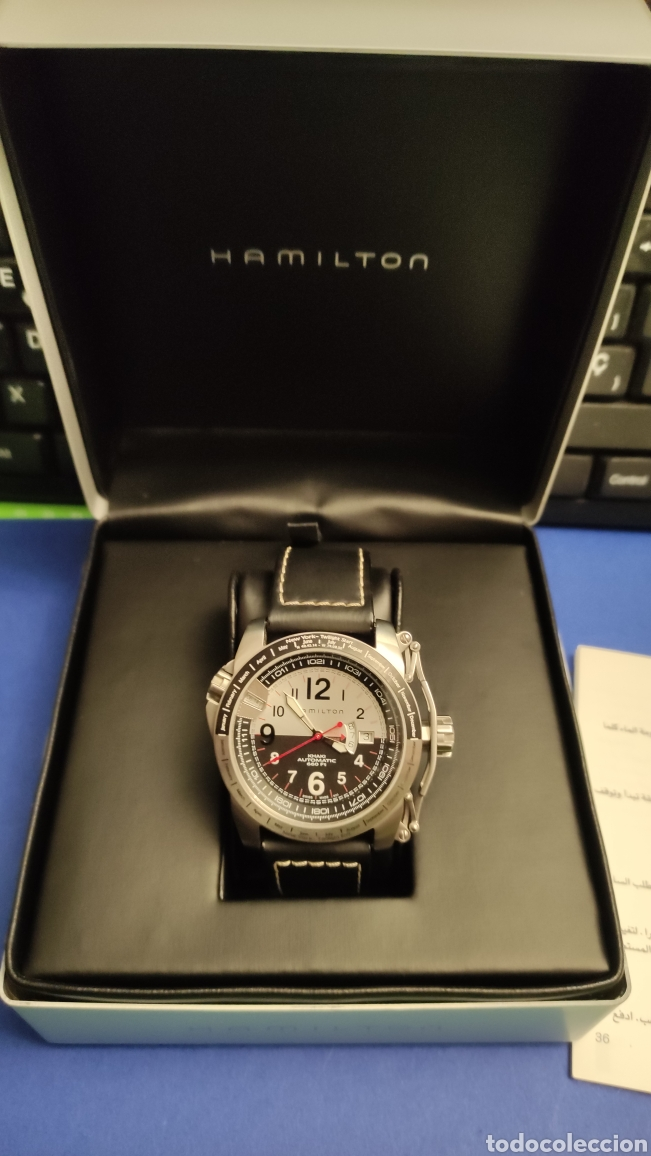 Relojes automáticos: Hamilton khaki automatic . 660Ft 45 mm. Nuevo sin uso - Foto 2 - 264977574