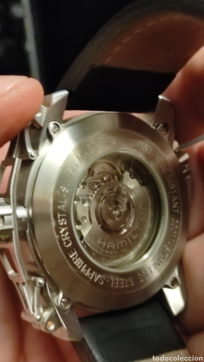 Relojes automáticos: Hamilton khaki automatic . 660Ft 45 mm. Nuevo sin uso - Foto 5 - 264977574