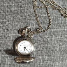 Relojes automáticos: RELOJ DE BOLSILLO PLATEADO. Lote 265515089