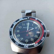 Relojes automáticos: RELOJ VOSTOK AÑO 1967 AUTOMÁTICO Y DE CUERDA A LA VEZ. RUSO.. Lote 265897563