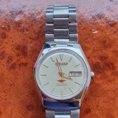 Relojes automáticos: RELOJ DE CABALLERO CITIZEN AUTOMATICO. FUNCIONANDO . CORREA ORIGINAL. Lote 266396093