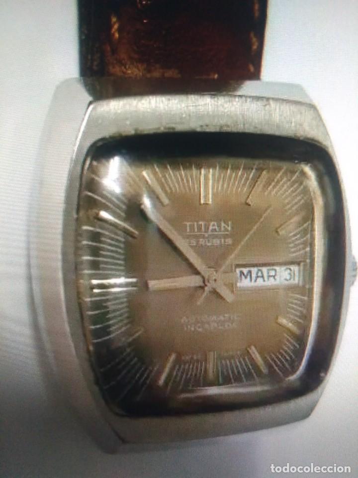 ANTIGUO RELOJ - TITAN - 25 RUBIS - AUTOMATIC - INCABLOC - SWISS MADE - ORIGINAL AÑOS 70 - PRECIOSO (Relojes - Relojes Automáticos)