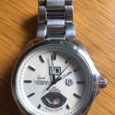 Orologi automatici: PRECIOSO TAG HEUER GRAND CARRERA CALIBRE 8 CABALLERO FUNCIONANDO. Lote 267054094
