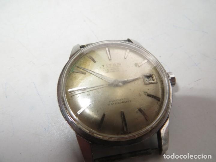 Relojes automáticos: RELOJ TITAN AUTOMATICO BUEN ESTADO Y FUNCIONAMIENTO,BARATO - Foto 2 - 267483549