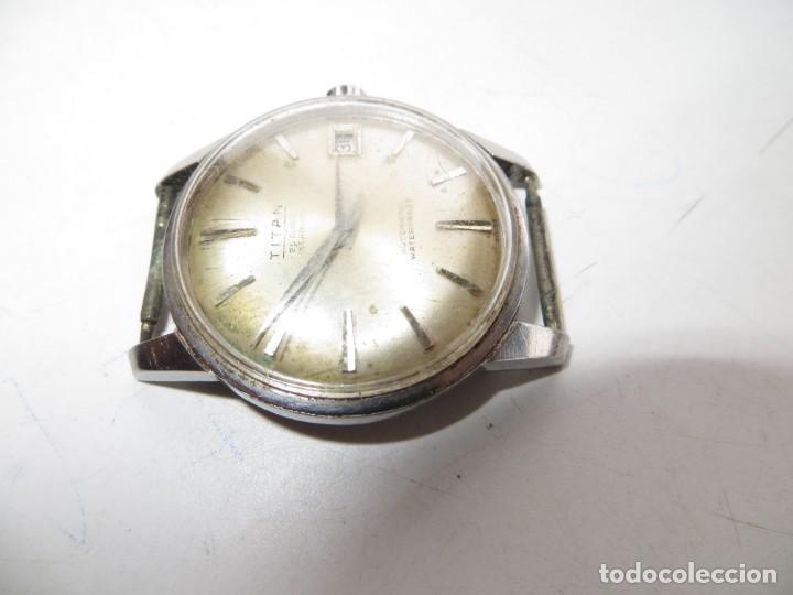 Relojes automáticos: RELOJ TITAN AUTOMATICO BUEN ESTADO Y FUNCIONAMIENTO,BARATO - Foto 3 - 267483549