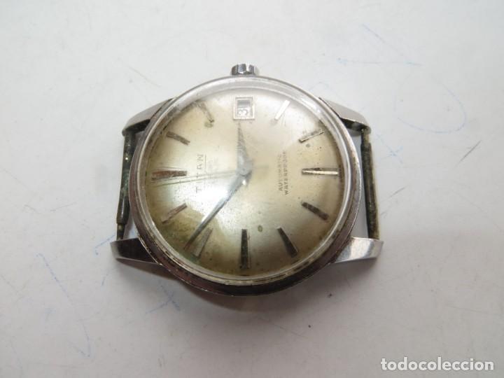 Relojes automáticos: RELOJ TITAN AUTOMATICO BUEN ESTADO Y FUNCIONAMIENTO,BARATO - Foto 4 - 267483549