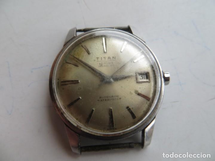 Relojes automáticos: RELOJ TITAN AUTOMATICO BUEN ESTADO Y FUNCIONAMIENTO,BARATO - Foto 5 - 267483549