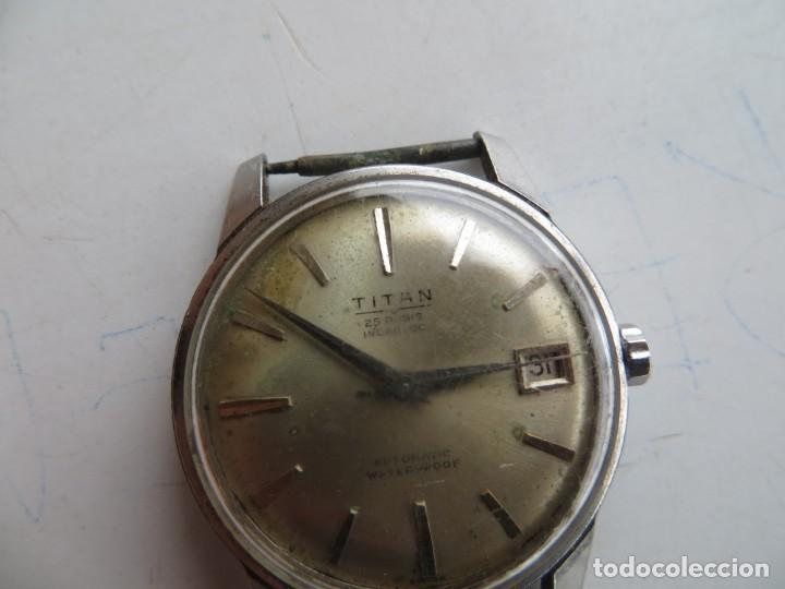 Relojes automáticos: RELOJ TITAN AUTOMATICO BUEN ESTADO Y FUNCIONAMIENTO,BARATO - Foto 6 - 267483549