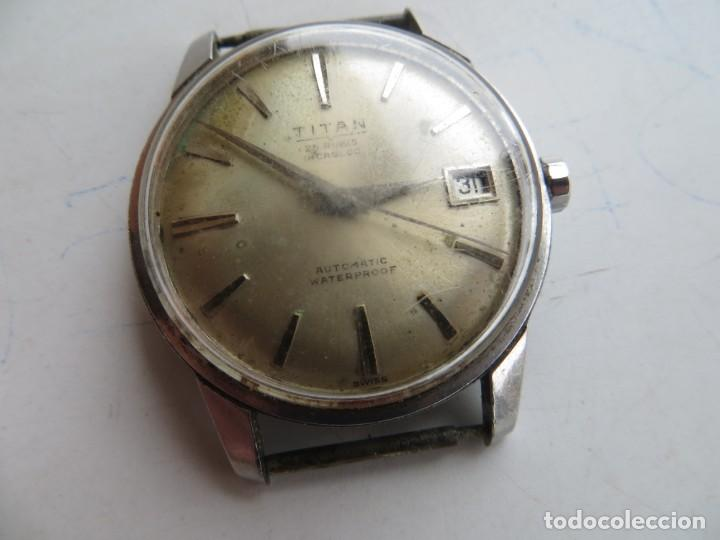 Relojes automáticos: RELOJ TITAN AUTOMATICO BUEN ESTADO Y FUNCIONAMIENTO,BARATO - Foto 7 - 267483549
