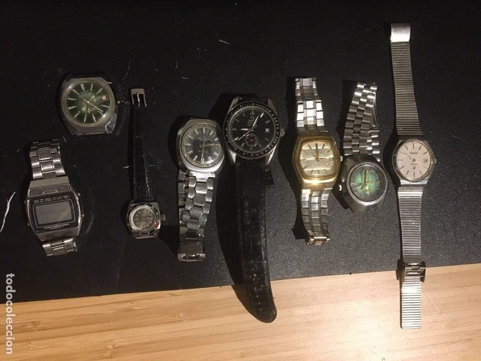 LOTE DE RELOJES AUTOMATICOS Y DE CUERDA (Relojes - Relojes Automáticos)