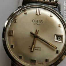 Relojes automáticos: RELOJ AUTOMATICO ORIS STAR 25 JEWELS FUNCIONA.. Lote 268594969