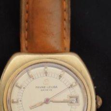 Relojes automáticos: UNICO FAVRE LEUBA GENEVE SHARK 1 EN VENTA, MODELO RARISIMO DE ENCONTRAR, AUTOMATICO FUNCIONANDO.. Lote 268840769