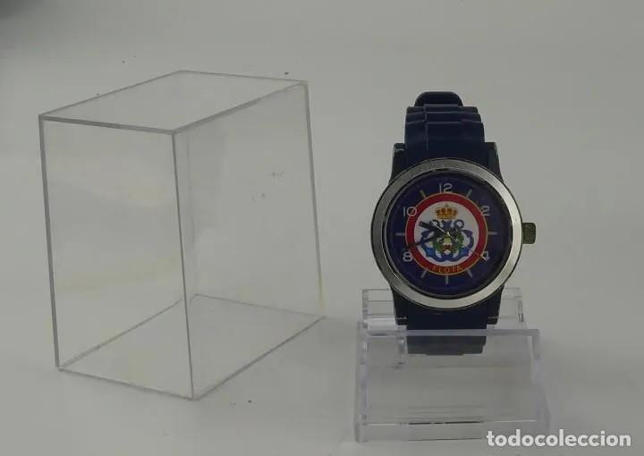 RELOJ MILITAR DE PULSERA AUTOMÁTICO LA FLOTA CON BANDA EN CAUCHO AZUL MARINO. INN (Relojes - Relojes Automáticos)