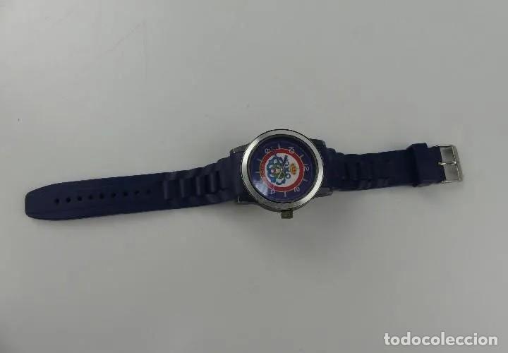 Relojes automáticos: Reloj militar de pulsera automático LA FLOTA con banda en caucho azul marino. inn - Foto 4 - 268977559