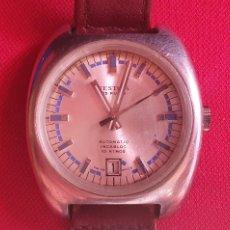 Relojes automáticos: RELOJ FESTINA 25 RUBIS AUTOMATICO MAQUINARIA COLOR DORADO INCABLOC 10 ATMOS FUNCIONA.MIDE 36 MM. Lote 269114618