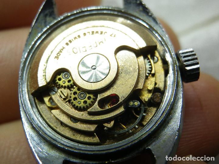 ORIGINAL IMPERIOS AUTOMATICO GRAN RELOJ DAMA VOLANTE OK NO FUNCIONA LOTE WATCHES (Relojes - Relojes Automáticos)