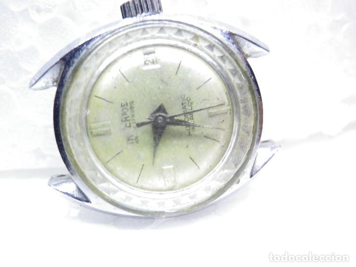 Relojes automáticos: ORIGINAL IMPERIOS AUTOMATICO GRAN RELOJ DAMA VOLANTE OK NO FUNCIONA LOTE WATCHES - Foto 2 - 269320883