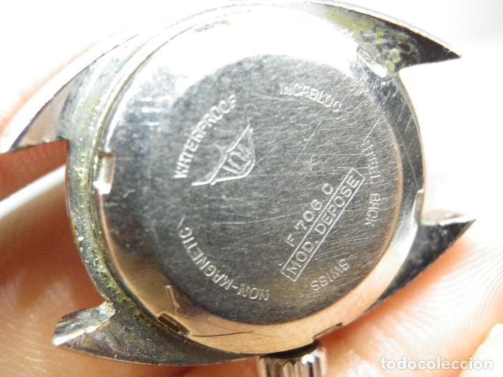 Relojes automáticos: ORIGINAL IMPERIOS AUTOMATICO GRAN RELOJ DAMA VOLANTE OK NO FUNCIONA LOTE WATCHES - Foto 4 - 269320883