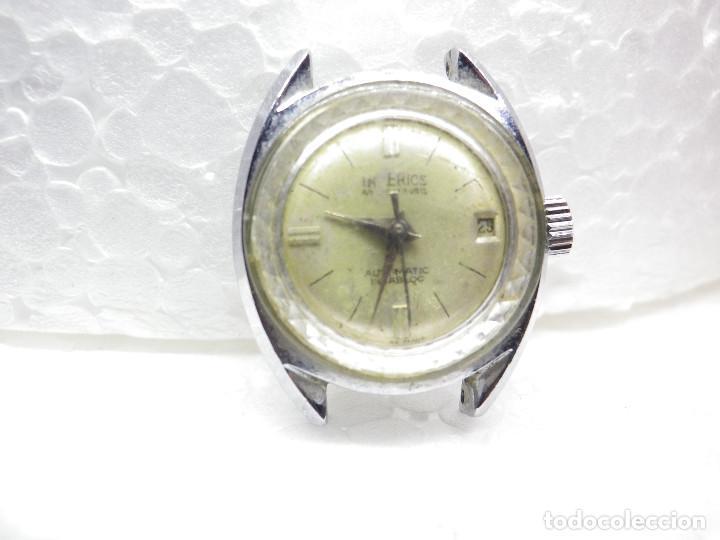 Relojes automáticos: ORIGINAL IMPERIOS AUTOMATICO GRAN RELOJ DAMA VOLANTE OK NO FUNCIONA LOTE WATCHES - Foto 5 - 269320883