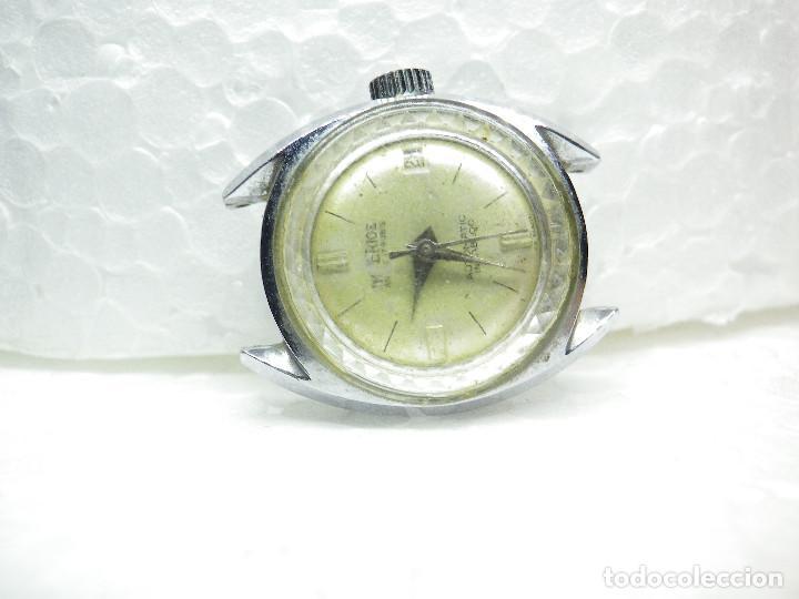 Relojes automáticos: ORIGINAL IMPERIOS AUTOMATICO GRAN RELOJ DAMA VOLANTE OK NO FUNCIONA LOTE WATCHES - Foto 7 - 269320883