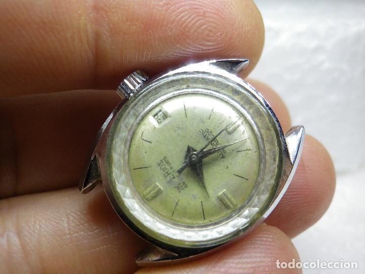 Relojes automáticos: ORIGINAL IMPERIOS AUTOMATICO GRAN RELOJ DAMA VOLANTE OK NO FUNCIONA LOTE WATCHES - Foto 9 - 269320883