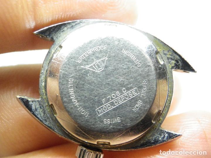 Relojes automáticos: ORIGINAL IMPERIOS AUTOMATICO GRAN RELOJ DAMA VOLANTE OK NO FUNCIONA LOTE WATCHES - Foto 10 - 269320883
