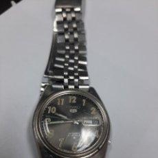 Relojes automáticos: RELOJ DE HOMBRE SEIKO 5 AUTOMÁTICO 21 JOYAS , FUNCIONANDO , SERIE A , FABRICADO EN JAPON. Lote 269334783