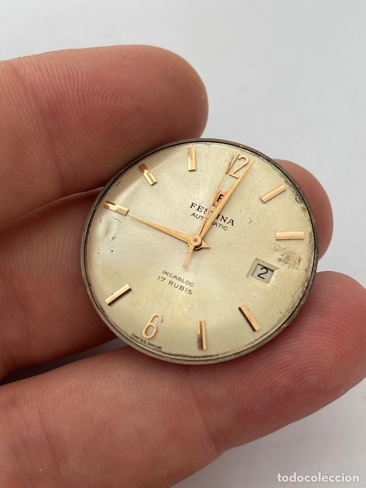 Relojes automáticos: Maquinaria, movimiento Festina automatic - Foto 2 - 269361298